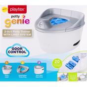 Playtex Potty Trainer, 3-in-1, Odor Control