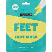 Freeman Foot Mask, Moisturizing + Smoothing, Flirty Feet,