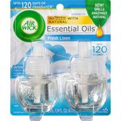 Air Wick Scented Oil Refills, Fresh Linen