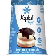 Yoplait Yogurt, Fat Free, Boston Cream Pie