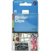 Ava Binder Clips, Printed