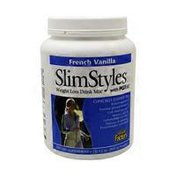 Natural Factors SlimStyles French Vanilla Weight Loss Drink Mix