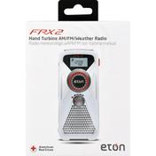 Eton Weather Radio, AM/FM, Hand Turbine