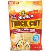 Borden Thick Cut Ultimate Nacho Blend Shredded Borden Thick Cut Ultimate Nacho Blend Shredded Cheese