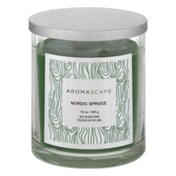 Aromascape Soy Blend Wax Candle Nordic Spruce