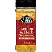 First Street Seasoning, Lemon & Herb, Specialty Blends