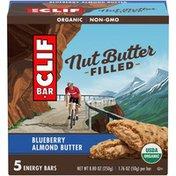 CLIF BAR Nut Butter Filled Blueberry Almond Butter Energy Bar