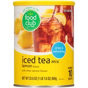 Food Club Lemon Iced Tea Mix