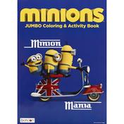 Bendon Coloring & Activity Book, Jumbo, Minion Mania