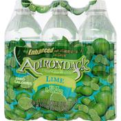 Adirondack Enhanced Water, Lime