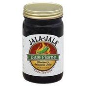 Jala Jala Jalapeno Jelly, Blueberry, Blue Flame
