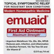 EMUAID First Aid Ointment, Maximum Strength