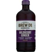 Brew Dr. Kombucha Kombucha, Organic, Wildberry Ginger