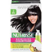 Nutrisse® 2 Soft Black Nourishing Color Foam