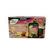 Simply Nature Organic Strawberry Lemonade Coconut Water Pouches