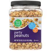 Food Club Party Peanuts