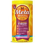 Metamucil Smooth Metamucil Psyllium Fiber Supplement by Meta Pink Lemonade Smooth Sugar Free Powder 24.1 oz 114 doses Laxative