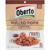 Oberto All Natural BBQ Recipe Pulled Pork Oberto All Natural BBQ Recipe Pulled Pork Jerky