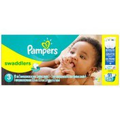 Pampers Swaddlers Size 3 Super Pack with Bonus Diapers