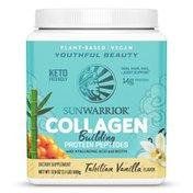 Sunwarrior Collagen Building Protein Peptides Tahitian Vanilla