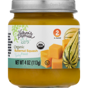 Nature's Promise Baby Food, Organic, Butternut Squash, 2 (6+ Months)