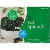 Food Club Leaf Spinach