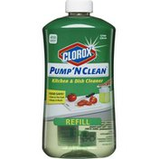 Clorox Pump 'N Clean Kitchen & Dish Cleaner Refill Crisp Citrus