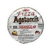 Agatucci's Sausage Pepper Pizza
