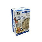 Food Lion Instant Oatmeal Variety