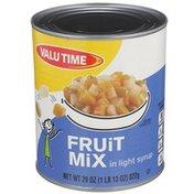 Valu Time Fruit Mix In Light Syrup