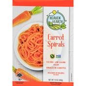 Heaven & Earth Carrot Spirals