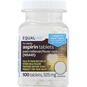 Equaline Aspirin, 325 mg, for Adults, Tablets