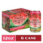 Angry Orchard Strawberry Hard Cider, Spiked