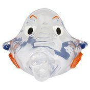 Pari Pediatric Aerosol Mask, PVC, Bubbles The Fish II