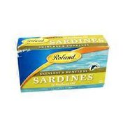 Roland Sardines in Soybean Oil, Skinless and Boneless