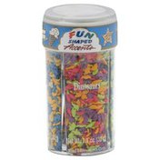 Fun Shaped Accents Sprinkles, Assorted