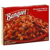Banquet Macaroni & Beef in Tomato Sauce