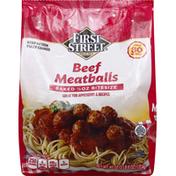 First Street Meatballs, Beef