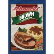 Schnucks Brown Gravy Mix