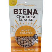 Biena Chickpea Snacks, Honey Roasted