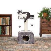 Prevue Shag Hideaway Plush Cat Furniture