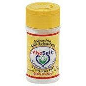 Also Salt Salt Substitute, Sodium Free, Butter Flavored