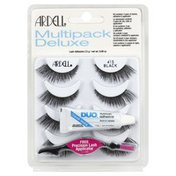 Ardell Lashes, Black 415, Multipack Deluxe