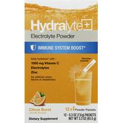 Hydralyte Electrolyte Powder, Citrus Burst