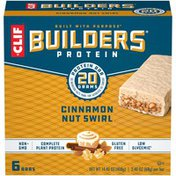 CLIF BAR Protein Cinnamon Nut Swirl Protein Bars