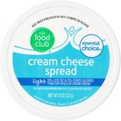 Food Club Light Cream Cheese Spread