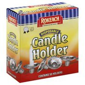 Rokeach Candle Holder, Disposable