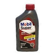 Mobil Super 5 W 30 Conventional Motor Oil