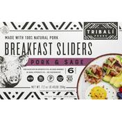 Tribali Foods Breakfast Sliders, Pork & Sage