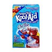 Kool-Aid On-The-Go Sugar-Free Tropical Punch Powdered Soft Drink